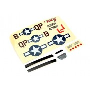 Decal Sheet: Ultra-Micro P-51D Mustang with AS3X