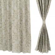 イージーオーダードレープカーテン100cm2枚組 179-199cm【QVC】40代・50代レディースファッション