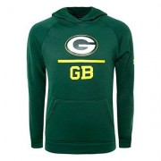 Under Armour Sudadera Under Armour NFL Green Bay Packers Infantil con Capucha. - - Amarillo+Verde