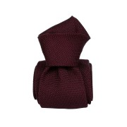 Cravata matase Grenadine Gentlemen`s Corner - burgundy