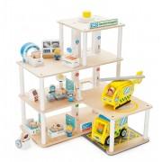 Set de joaca pentru copii Spital cu accesorii Tidlo, 30 piese, 3 ani+