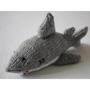 Handmade Knitted Decorative Shark
