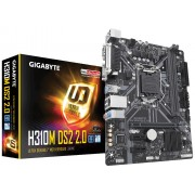 MB, GIGABYTE H310M-DS2 2.0 /Intel H310/ DDR4/ LGA1151