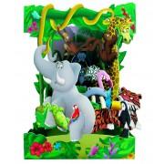 Dzsungel állatai képeslap