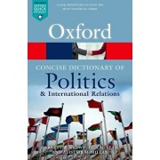The Concise Oxford Dictionary of Politics and International Relations, Paperback/Garrett W. Brown