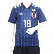 勝色アーマーパック アディダス adidas サッカー キッズ 日本代表ホームレプリカユニフォーム(18番 浅野拓磨)