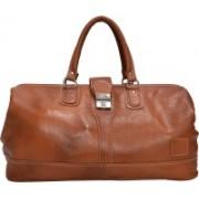 HIDECART Hide cart travelling Bag Small Travel Bag - Medium(Tan)