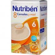 Nutriben Cereales 8 Cereales Miel 600 g