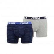 Puma Spacedye Stripe Boxershorts Blue Combo 2-pack-L