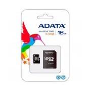 MEMORIA MICRO SDHC ADATA 16GB CL4 C/ADAPT (AUSDH16GCL4-RA1)