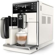 Espressor automat Philips SM5478/10, 10 băuturi, 15 bar, 1.8 L, 10 setări de măcinare, LattePerfetto, CaffeDuo, Afişaj tactil, Filtru AquaClean, Carafă pentru lapte integrată, Alb