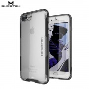 Ghostek - iPhone 8 Plus / 7 Plus Cloak 3 Outdoor Schutz Hülle - Schwarz / Transparent