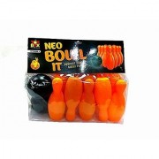Toysbox Toyztrend Neo Bowl It Plastic Indoor & Outdoor Bowling Set For Kids Ages 3+