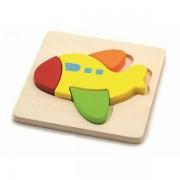 0125026 - Drvene puzzle 4 dijela - avion