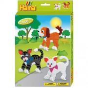 Hama Strijkkralen Hama Hond & Kat 2000 Stuks
