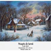 Noapte de iarna (kit goblen)