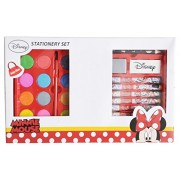 HMI Disney & Marvel Art and Craft Coloring Folder Stationery Set in Mickey Mouse, Minnie Mouse, Cars, Avengers, Spider-Man and Princess Characters, 24 pieces, Multi Color (Minnie Mouse)