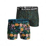 Björn Borg Sammy Shorts Strong Flower 2-Pack L