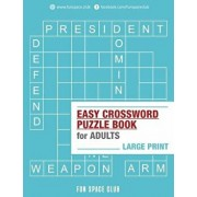 Easy Crossword Puzzle Books for Adults Large Print: Crossword Easy Puzzle Books, Paperback/Nancy Dyer