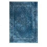 Dutchbone Rugged - Tapis de salon iranien bleu