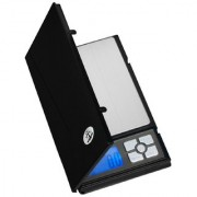 Tradeaiza Notebook Series Digital Scale with 5 Digits LCD Display 500g x 0.01g (Black) Weighing Scale(Silver)