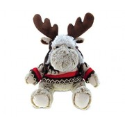 Puzzled Moose Soft Stuffed Plush Cuddly Animal Toy Wild Animals / Animals Collection Unique Huggable Loveable New Friend Gift Item #5768