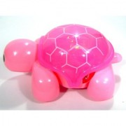 Musical Mini Tortoise Toy with Flash Light