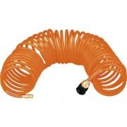 Furtun spiralat aer comprimat Topex 10m Ø5x8 mm max. 8 bari, pentru compresoare