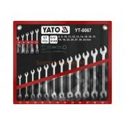 Yato Csillag-villáskulcs készlet 17 részes (YT-0067)
