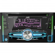 Autoestereo Jvc Kw-r910bt Multicolor Bluetooth Usb CD IPhone Android