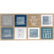 Home Styling Collection Obdélníkový rámeček - pro 4 fotky