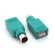 ADAPTADOR USB A HEMBRA A PS2 MACHO