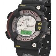 i DIVA'S NEW MTG Analog-Digital Black Silicone Watch - Men