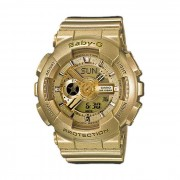 Analogico-digital Casio Baby-G-BA 111-9AER senoras reloj-Oro