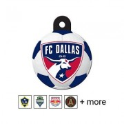 Quick-Tag MLS Circle Dog & Cat ID Tag, Large, FC Dallas
