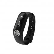 TomTom Touch Cardio Fitness Tracker Large Straps - фитнес гривна измерваща дневната, нощтната активност и сърдечния ритъм (черен)