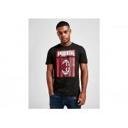 PUMA AC Milan GPX Training Shirt Heren - Black/Red - Heren