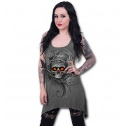 Rochie femei SPIRAL - ROOTS OF HELL - Grey - E023F128