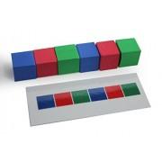 Preschool & Kindergarten Pattern Activities AB ABC ABAB Early Math Pattern Activity Stacking Blocks