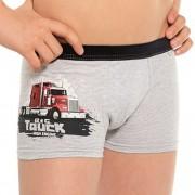 Big truck fiú boxeralsó szürke 110116