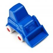 Minimobil Miniland, 9 cm, model excavator, albastru