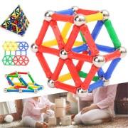 103PCS Magnetic Building Blocks Set Construction DIY Sticks For Kids Children Educational Gift Toys