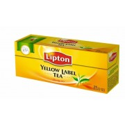 Fekete tea, 25x2 g, LIPTON Yellow label (KHK023)