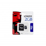 Tarjeta De Memoria Flash Kingston 2 GB MicroSD SDC / 2GBKR