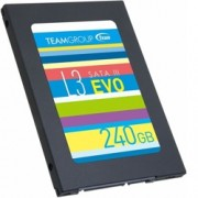 """SSD 240GB TeamGroup L3 EVO, SATA 6Gb/s, 2.5""""(6.35 cm), скорост на четене 530MB/s, скорост на запис 470MB/s"""