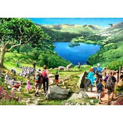 "The House of Puzzles 1000 Piece Jigsaw Puzzle – Lake View - ""New July 2016"""