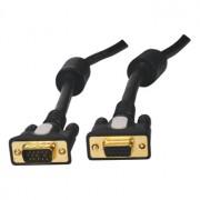 Hoge kwaliteit VGA verlengkabel verguld [diverse lengtes]