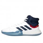 Adidas Marquee Boost Hyp EH2451 basket-ball toute l'année chaussures pour hommes blanc/noir/bleu clair 11 UK / 11.5 US / 46 EUR / 29.5 cm