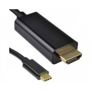 E-GREEN Kabl 3.1 USB tip C - HDMI 4K2K 5m crni