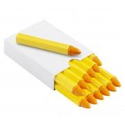Kreda do opon, marker REDATS - żółta 12 sztuk - żółty